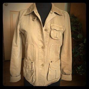 J crew cargo jacket w/xs